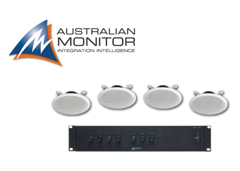 Australian Monitor Commercial Sound System