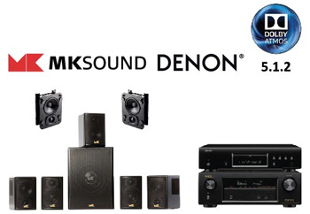 5.1.2 Dolby Atmos Home Theatre System
