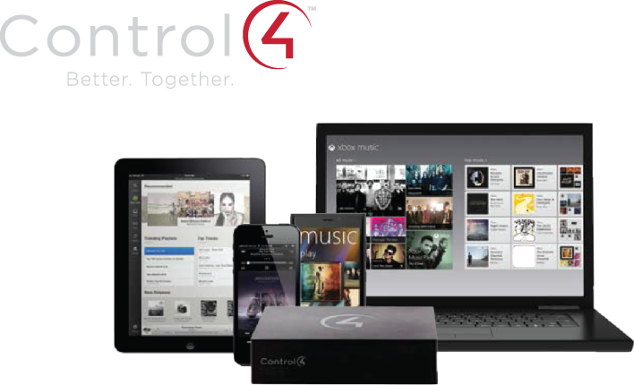 Control4 smart home automation systems